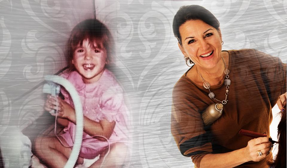 Danielle Perrault-children-adult
